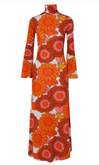 DODO BAR OR BRIGITTE FLORAL-PRINT STRETCH-JERSEY DRESS