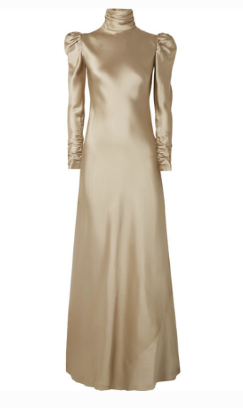 ZIMMERNANN SATIN-TWILL MAXI DRESS