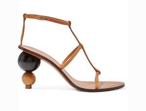 CULT GAIA EDEN LEATHER SANDALS
