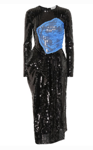 PREEN BY THORNTON BREGAZZI SEQUIN DRESS
