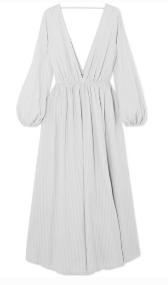 KALITA APHRODITE COTTON-GAUZE MAXI DRESS