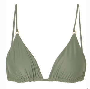 JADE SWIM Lido triangle bikini top