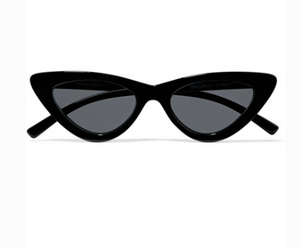 LE SPECS + Adam Selman The Last Lolita cat-eye acetate sunglasses