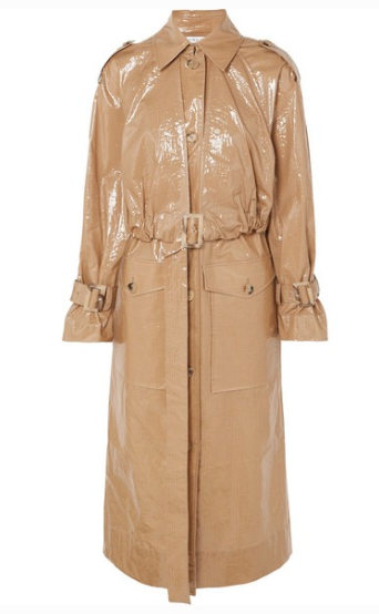 REJINA PYO Coated-cotton trench coat
