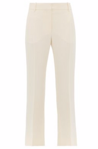 VALENTINO  Tailored slim-fit wool-blend trousers
