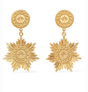 MEADOWLARK Soren gold-plated earrings