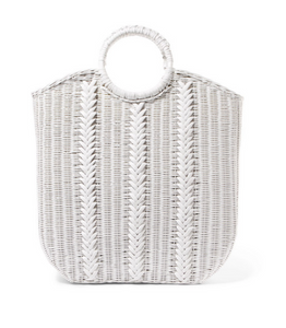 ULLA JOHNSON Rona wicker tote