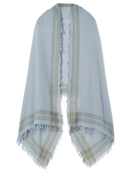 RAG & BONE Nassau striped wool scarf