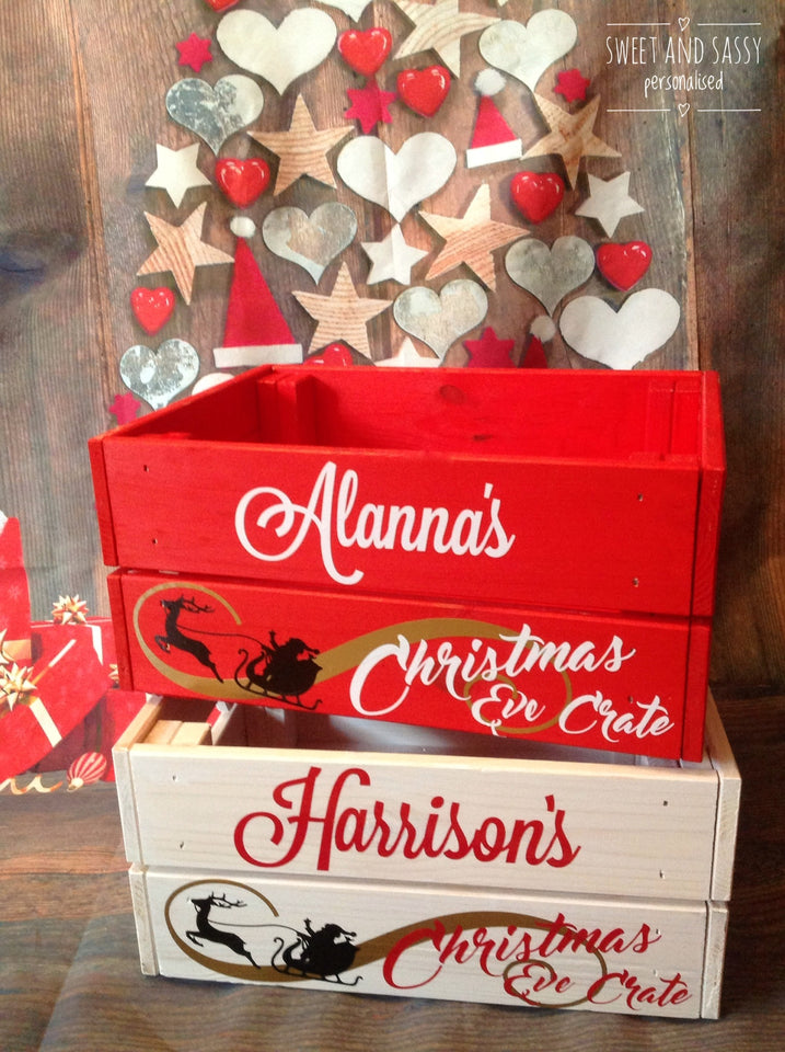 CHRISTMAS CRATES