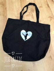 Large feis bag for Irish Dance by Jigatastic