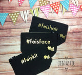 HASHTAG FEIS ACCESSORY BAG SET (Ready to ship)