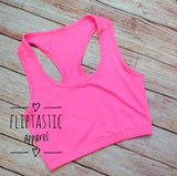 Fliptastic Crop tops are perfect for sports and dance