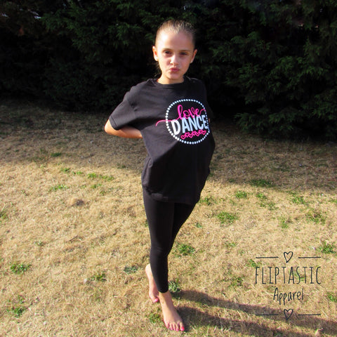 LOVE DANCE T-SHIRT Age 7-8