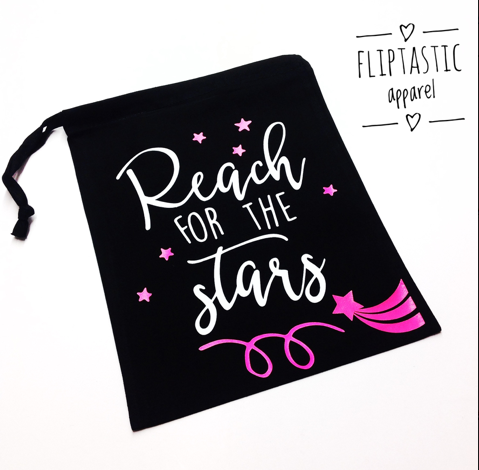 REACH FOR THE STARS GRIP BAG