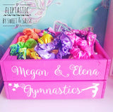 PERSONALISED GYMNASTICS CRATE