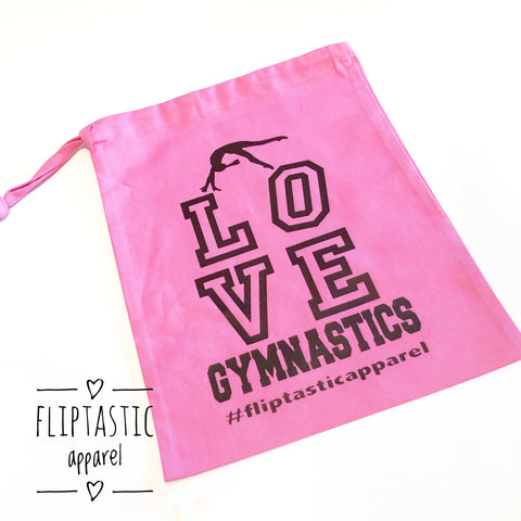 LOVE GYMNASTICS GRIP BAG