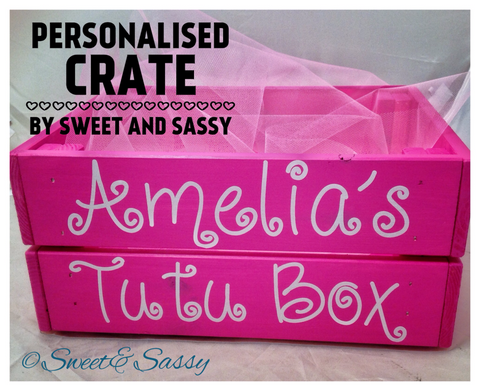PERSONALISED CURLY CRATE