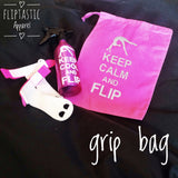 KEEP CALM AND FLIP GRIP BAG