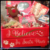 SANTA PAWS CHRISTMAS CRATE