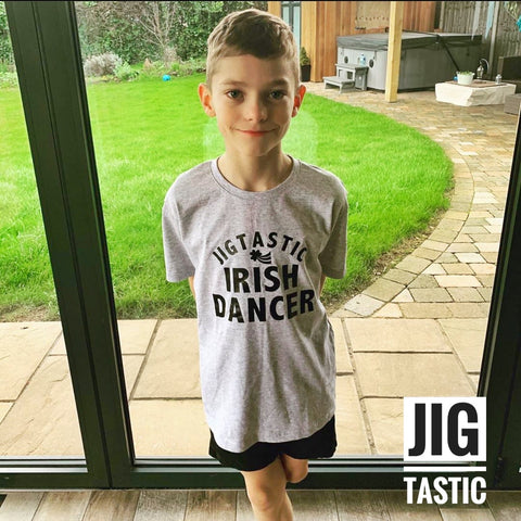 JIGTASTIC IRISH DANCER T-SHIRT