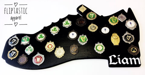 HEAVY SHOE MEDAL BOARD (Ready to ship)