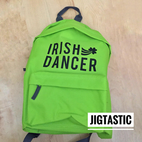 IRISH DANCER BACKPACK (Custom made to order)