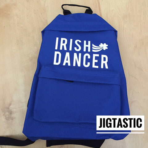 IRISH DANCER ROYAL BLUE BACKPACK (Ready to ship)