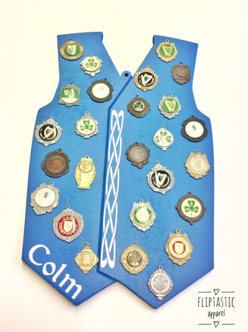 FEIS WAISTCOAT MEDAL BOARD (Made to order)