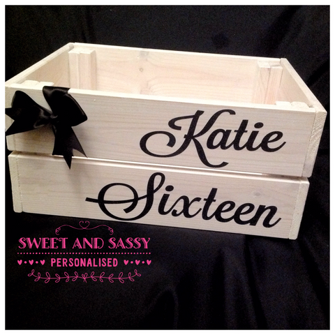 KATIE BIRTHDAY CRATE