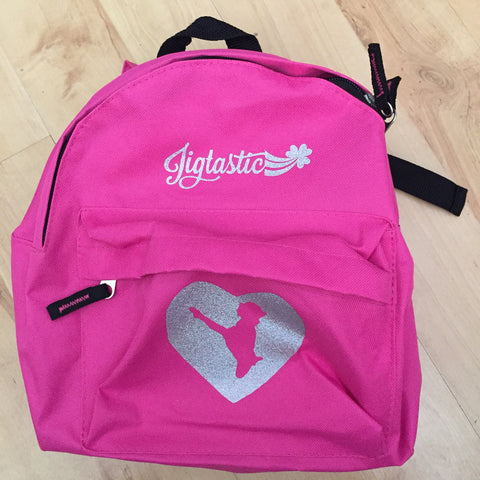 IRISH DANCE HEART BACKPACK (Custom made to order)
