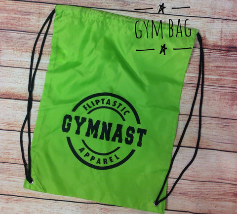 ANY ACTIVITY COLLEGE DRAWSTRING BAG