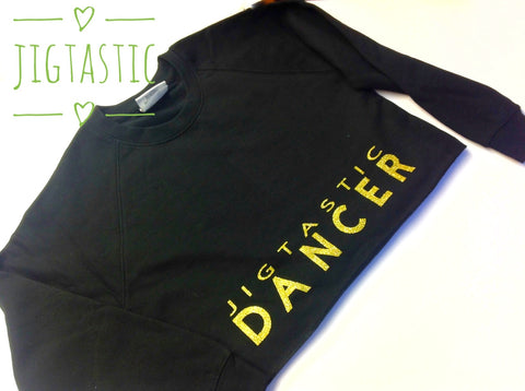 JIGTASTIC IRISH DANCER CROPPED SWEATSHIRT