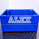 PERSONALISED COLLEGE CRATE