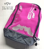 JIGTASTIC SHOES ZIPPED BAG (READY TO SHIP)