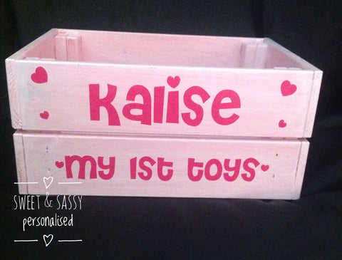 PERSONALISED SWEETHEARTS CRATE