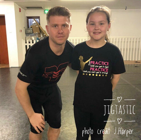 IRISH DANCE PRACTICE PRACTICE T-SHIRT