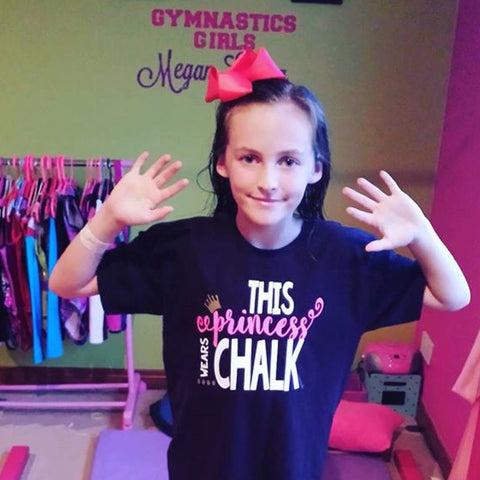 THIS PRINCESS WEARS CHALK T-SHIRT