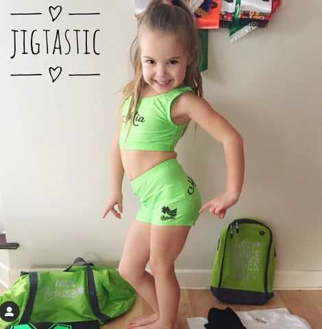 PERSONALISED JIGTASTIC CROP SET