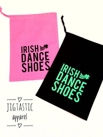 IRISH DANCE SHOES SIGNATURE BAG (Ready to Ship)