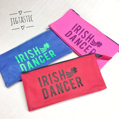 Irish Dance themed pencil case by Jigtastic