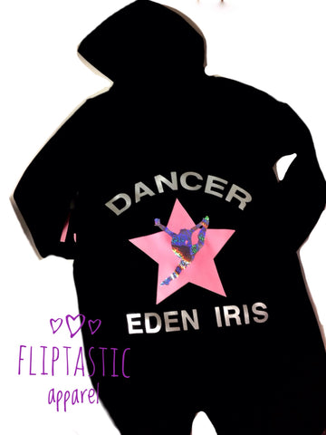 DANCER  / GYMNAST/ CHEER STAR ONESIE