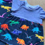 GEORASSIC RAINBOW DINOSAUR DRESS