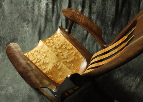 Sculpted Rocking Chairs