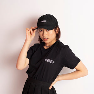 Nihilism Embroidered Logo Tee