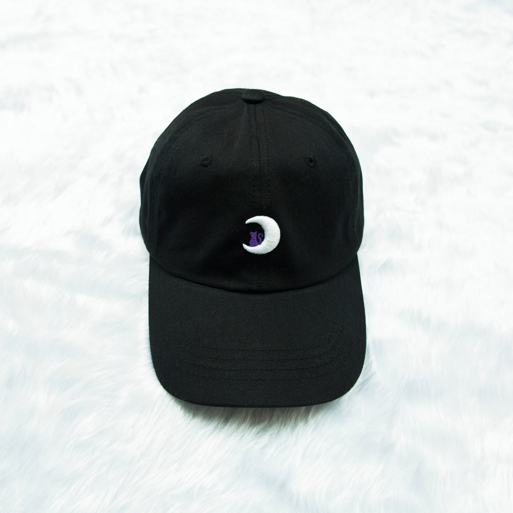 Black Luna Dad Cap