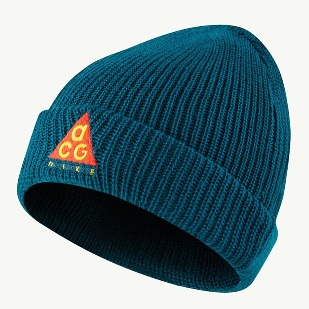 aea3a7af1 NIKE ACG BEANIE TEAL ORANGE