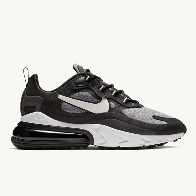 info for 1ff33 977f7 NIKE AIR MAX 270 REACT BLACK VAST GREY