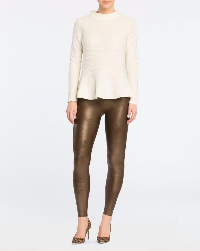 Leggings effetto pelle vita alta - Tyna.it