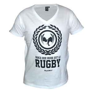 tee shirt rugby anto blanc