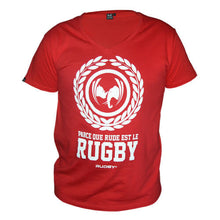 tee shirt rugby anto rouge